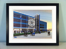 "JACK KAVANAGH ""KING POWER STADIUM"" LEICESTER CITY FRAMED PRINT"