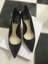 NIB 100% AUTH Christian Dior Cherie Patent Leather Pointy Pumps 8cm $650
