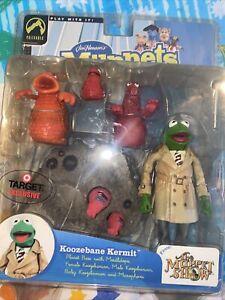 MUPPETS Series Four 4 KOOZEBANE KERMIT 2003 Red Palisades Toys TARGET Exclusive