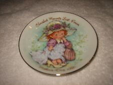 """Vtg 1981 Avon Mother'S Day Plate 22K Gold /Easel""""Cherished Moments Last 4Ever """""""