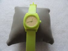 Fluorescent Yellow Nixon Quartz Ladies Watch