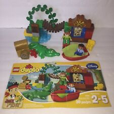 GUC Lego Duplo Peter Pan's Visit 10526 Complete Jake Neverland Pirates No Box