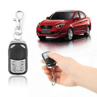 1/2X Universal Cloning Remote Control Key Fob Electric Gate Garage Door 433mhz