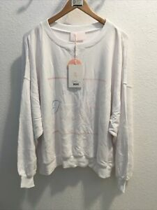 selkie the Dads Sweater A Women On The Job White Sz L (nwt)