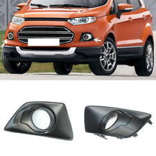 Auto ReFit For Ford Ecosport 2013-2016 2PCS Front Fog Lamp Grille Cover
