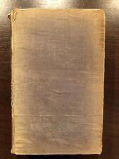 HISTORY OF THE CHRISTIAN CHURCH by REV. EDWARD BURTON - S.P.C.K - H/B - 1838