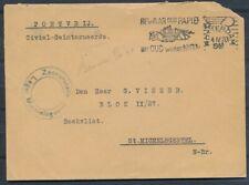 PORTVRIJ COUVERT ROTTERDAM 4.IV.1944 - CIVIEL-GEINTERNEERDE KAMP BEEKVLIET Ad226