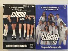 CLASE 406 Primera Y Segunda Temporada DVD Mexican Edition Rare Como RBD Rebelde