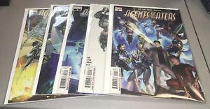 Agents of Atlas #1 2 3 4 5 Marvel Complete Comic Lot Run Set 1st Print 1-5