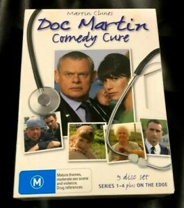 Doc Martin Comedy Cure (DVD, 2011, 9-Disc Set) Very Good Condition Region 4