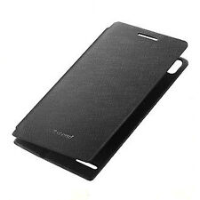 Case in Leather Huawei Original for Huawei Ascend P6 Black