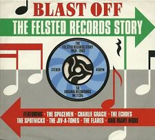 BLAST OFF THE FELSTED RECORDS STORY - 1958 - 1962 - 2 CD BOX SET