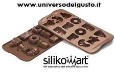 STAMPO CIOCCOLATINI IN SILICONE GOOD MORNING Easy Choc SILIKOMART DECORA TORTE