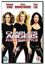 Charlie's Angels: Full Throttle [DVD], Very Good DVD, Drew Barrymore, Cameron Di