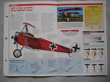 Aircraft of the World Card 20, Group 7 Fokker Dr.1 Triplane, Richthofen's Circus