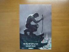 Hugh Jackman The Wolverine SAMURAI MOVIE FLYER  mini poster ver.2  Japanese