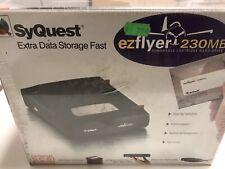 Syquest EZ-Flyer 230MB SCSI Voll Funktionsfähig Und Noch Original Verschweißt