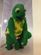 Mans Animal Frog / Toad Mascot costume Fancy Dress Outfit Cosplay Larp