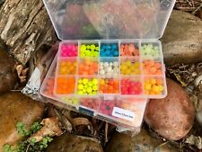 Lazy Larry's E-Z Beads Mogo's Variety,15 Compartment Kit, 10mm/7mm Mix Free Pegs
