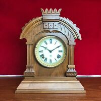 1920 Antique American Ansonia  Mantle Clock 7 Day