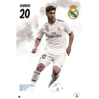 """RAUL ASENSIO REAL MADRID PLAYER WALL POSTER 24'X36"""" OFFICIALLY LICENSED"""