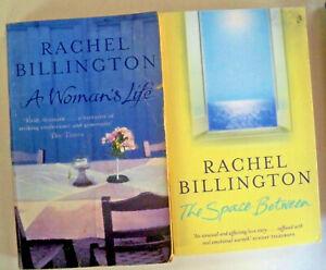 2 x Rachel Billington - A Woman's Life + The Space Between