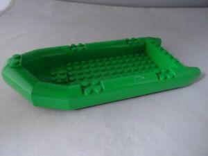 LEGO PART 62812 BRIGHT GREEN BOAT/RAFT x 1