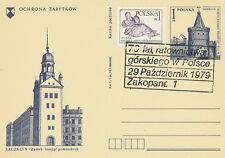 Poland postmark ZAKOPANE - mountain rescue GOPR