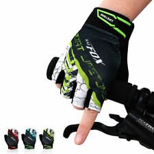 Unbranded Men's Half Finger/Fingerless Cycling Gloves