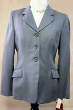 Hadfield's by Grand Prix Ladies Light Weight Grey Show Coat, Size: 36ins -1975-5