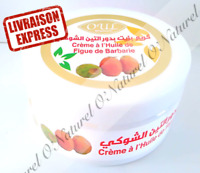 Crème à l'Huile de Figue de Barbarie 100% Naturelle 200ml Cream Prickly Pear Oil