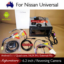 """6.2"""" Android Quad Core Nav Car DVD GPS Head Unit For Nissan Univeral AUX IN"""
