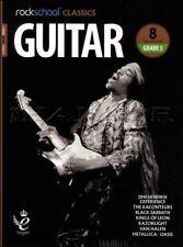 Rockschool Classics Guitar Grade 3 TAB Music Book/Audio Jimi Hendrix Metallica