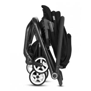 Cybex Eezy S Pram Stroller - Lavastone Black