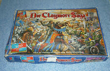 Die Claymore Saga Brettspiel Tabletop Spiel  + Citadel Figuren MB Spiele Fantasy