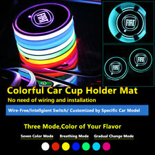 1pcs Colorful Car LED Lighting Lamps Accessories For Fiat Light Interior Lights