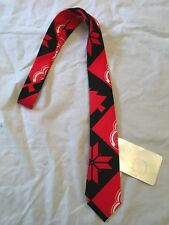 Detroit Red Wings NEW Mens Patches Neck Tie . NHL Hockey NWT Gift Dad Fan OSFM