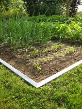 20x Broad Metal Lawn Edging Border Edge Alu with double antirust 14 cm high