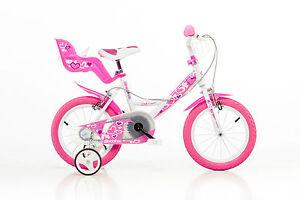 14 Zoll Kinderfahrrad144RN Mädchenfahrrad Kinderrad Fahrrad Spielrad