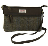 Harris Tweed Carloway Handbag & Leather Trim New Line