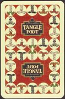 Playing Cards 1 Single Card Old BADGER Brewery TANGLE FOOT BEER Advertising Art
