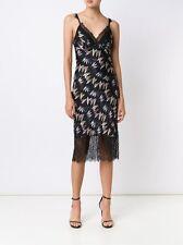 DIANE VON FURSTENBERG DVF Margarit Army of Hearts Slip Dress Size 8 NWT $398