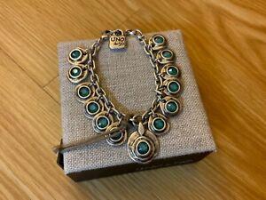 "NWT Uno de 50 Silver-plated Bracelet ""Tizoc"""