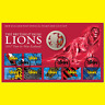 New Zealand -2017 -UNC $1 BU Coin  The British & Irish Lions Stamp and Coin Pack