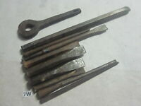 Vintage Timber Chisels Woodworking Tools