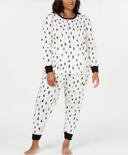 MACY'S Family Pajamas Women's Tree Print Pajama Set sz 3X XXX-Large Christmas