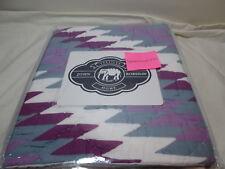 "New John Robshaw Textiles Freya King Pillow Sham 20""x36"" Nip"