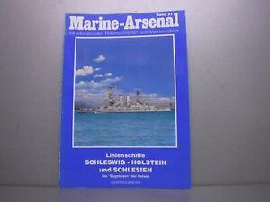 Marine Arsenal Band 21 Linienschiffe Schleswig-Holstein und Schlesien Breyer