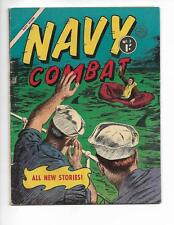 Navy Combat No 3 1950's Australian Life Raft / Shark Fins Cover!