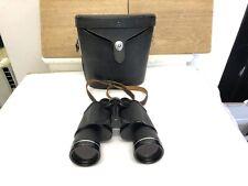 Asahi Pentax 10x50 Coated Optics Prism Binoculars in case. Made in Japan